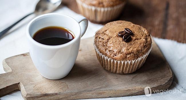 Muffin vegani al caffè