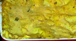 Lasagne vegane con zucca e peperoni