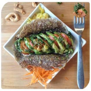 crepe avocado senza glutine