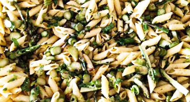 pasta piselli e asparagi
