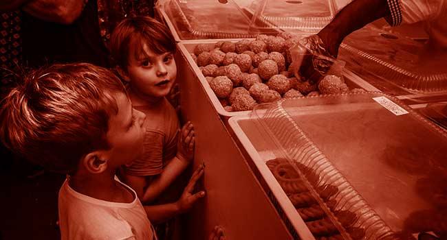 Bambini-mensa-carne