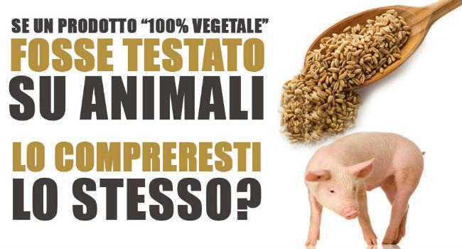 alimentazione bio e vivisezione