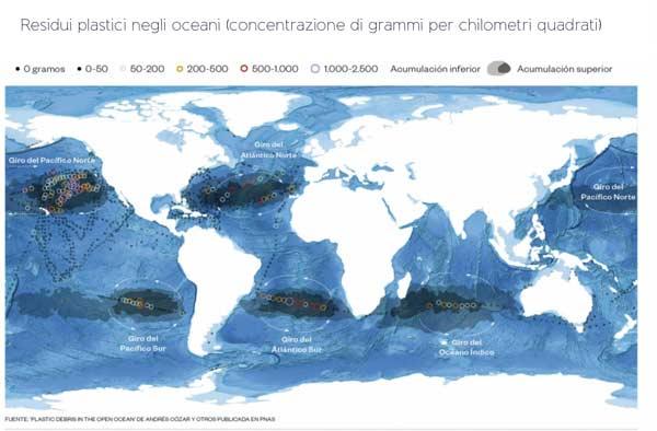 Oceani plastica