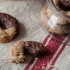biscotti vegani panna e cacao