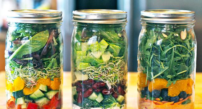 Pranzo vegano in barattolo 5 idee da intrappolare for Cucinare vegano