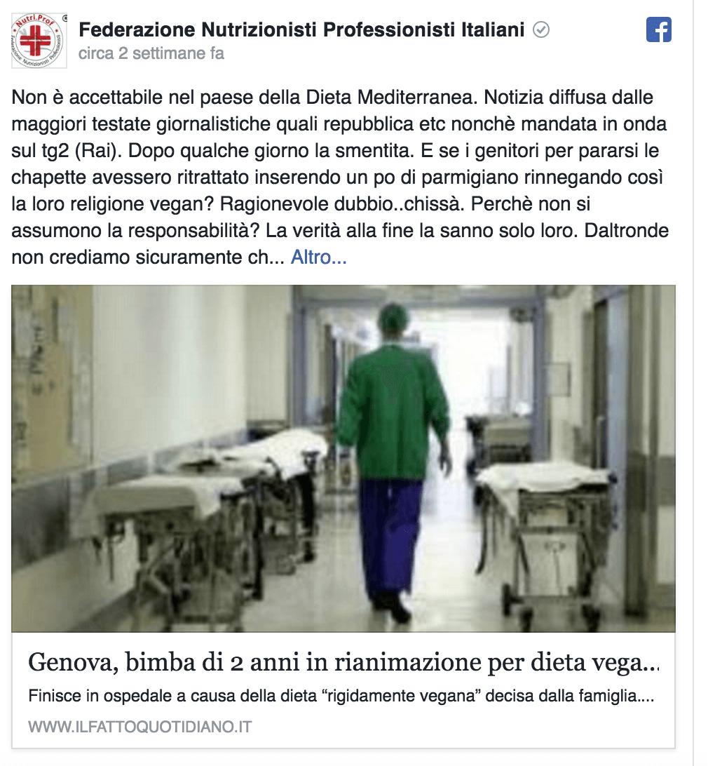 federazione nutrizionisti italiani