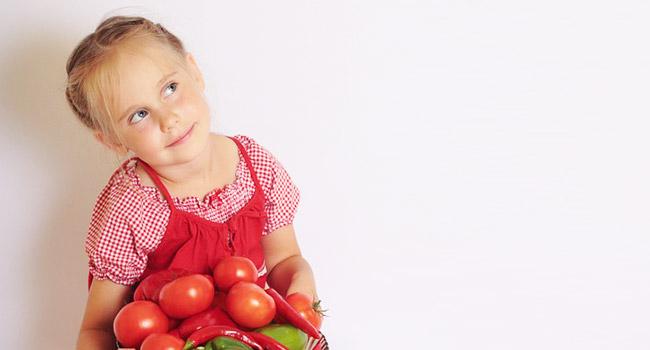 bambina-vegana-