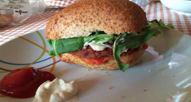 Burger veg e maio veg