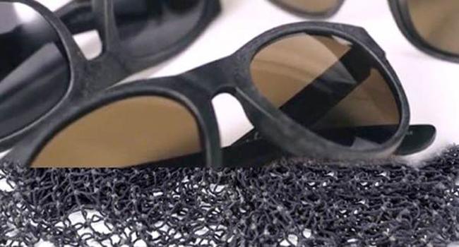 occhiali riciclati