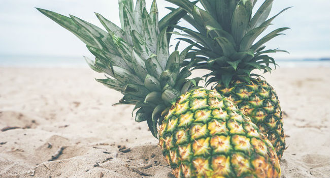 Ananas frullato