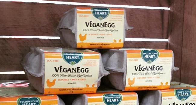 Uova vegane