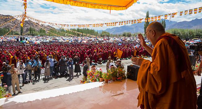 Dalai lama vegetariano