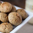 Biscotti vegani di riso e arancia