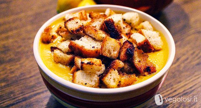Vellutata carote e patate
