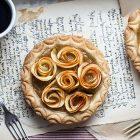 Crostatine alle mele e crema di marroni