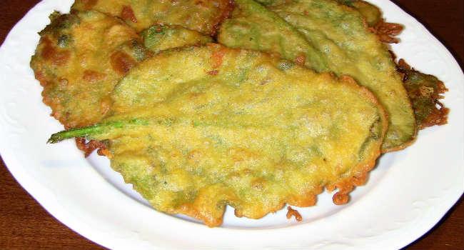 Foglie di Borragine in pastella Vegan