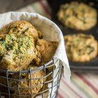 Muffin salati vegani ai carciofi