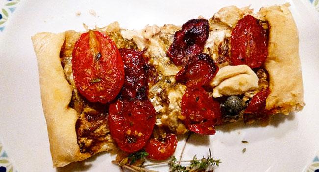 Ricetta torta rustica di scarola