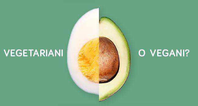 qual è la differenza tra dieta vegana e vegetariana