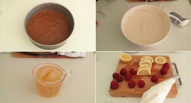 Cheesecake vegan al limone