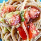 spaghetti con l'avocado