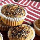 Muffin vegani senza zucchero