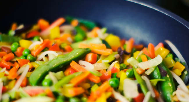 vegetables-frying-pan-greens