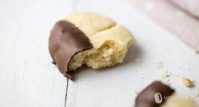 biscotti di frolla montata vegan