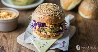 Burger vegano con patate, friarielli e shiitake – Speciale festa del papà – VIDEO