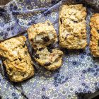 mini plumcake noci pere mirtilli