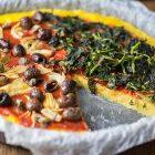 pizza polenta carciofi olive friarielli