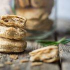 Biscotti vegani al rosmarino e germe di grano