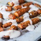 carote arrosto besciamella di arachidi