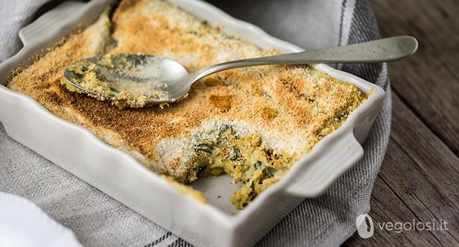 Gateau di patate vegano - Gattò di patate senza uova e formaggio