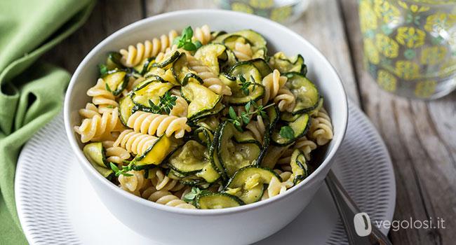 pasta integrale  Pasta integrale con zucchine alla scapece - Ricetta -