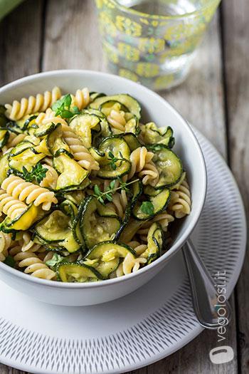 pasta integrale zucchine alla scapece