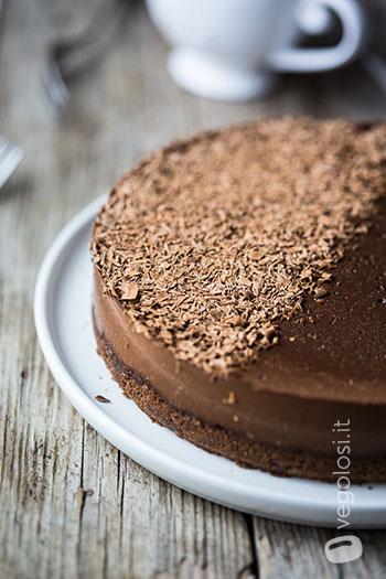 tofu cake cioccolato fondente