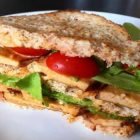 club sandwich vegano