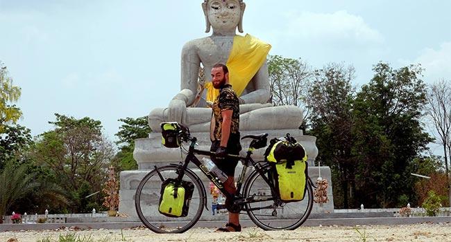 Ciclista vegano