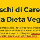 Rischi dieta vegan