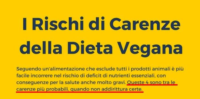 alimenti essenziali in una dieta vegetariana