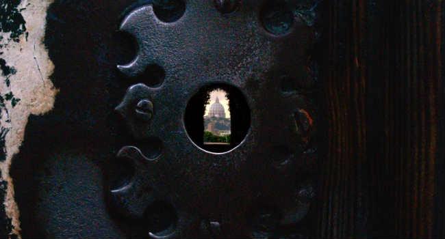 buco serratura parco savello