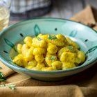Gnocchi con farina di ceci e patate