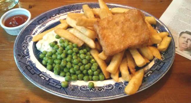 tofush and chips