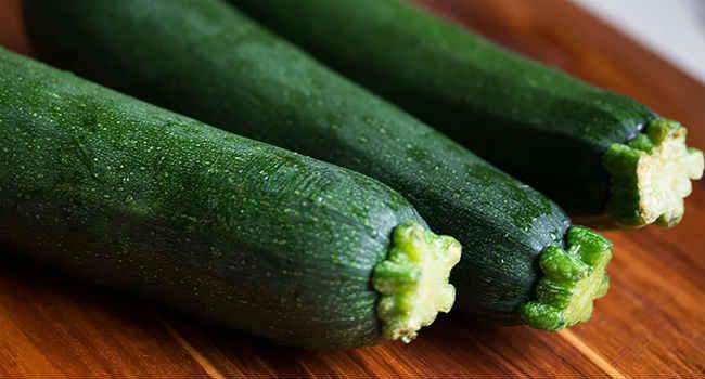 zucchine fresche