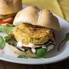 hamburger di ceci vegani classici