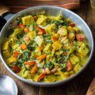 curry vegan di tempeh