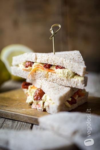 Sandwich con crema di limone