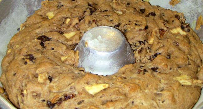 Torta vegana fichi secchi e zenzero
