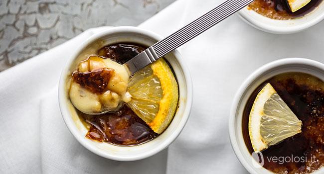 Crema catalana vegan senza uova